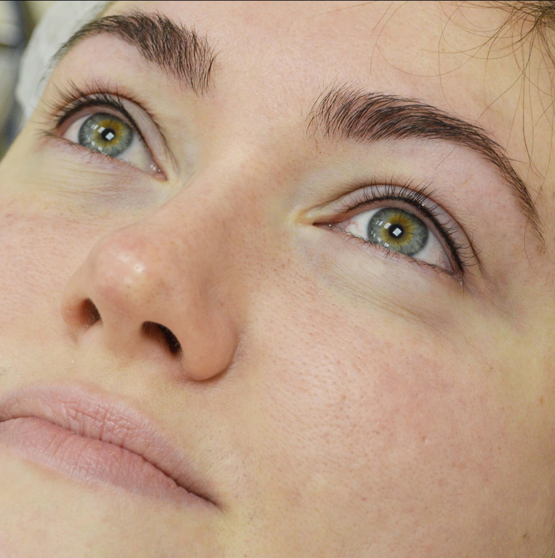 перманентный макияж глаз стрелки фото